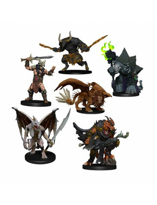Dungeons & Dragons: Icons of the Realms - Arkhan & Dark Order Figures Pack