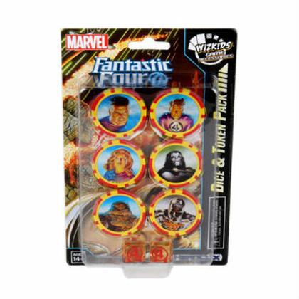 Marvel HeroClix: Fantastic Four Dice & Token Pack