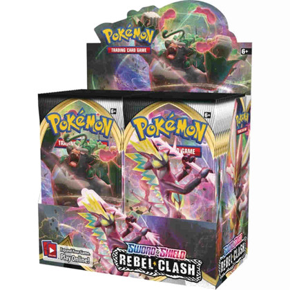 Pokemon: Sword & Shield - Rebel Clash Booster Box