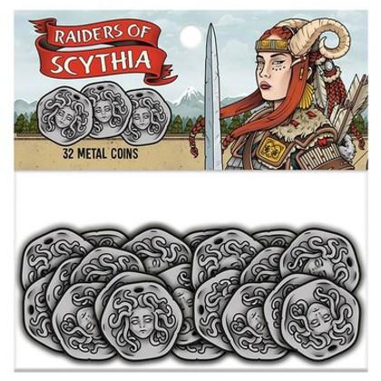 Raiders of Scythia: Metal Coins (32)