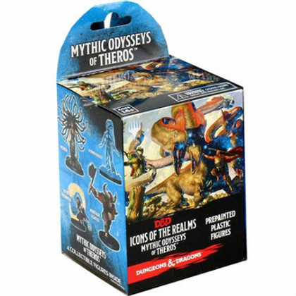 Dungeons & Dragons Miniatures: Icons of the Realms - Mythic Odysseys of Theros Booster Pack