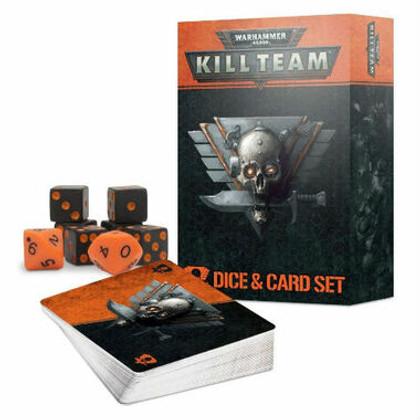 Warhammer 40K: Kill Team - Dice & Card Set