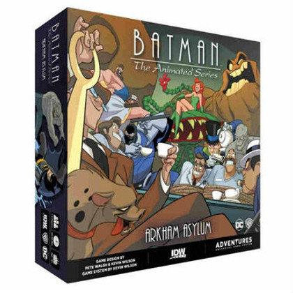 Batman: The Animated Series Adventures - Arkham Asylum Expansion (PREORDER)