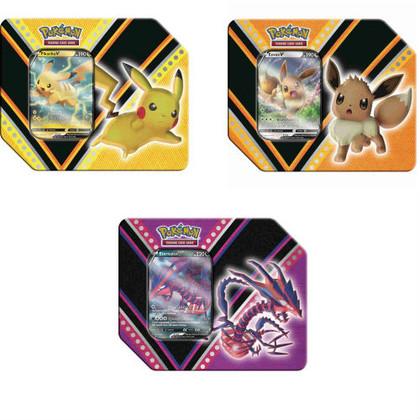 Pokemon: V Powers Tin (Set of 3)