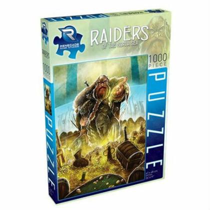 Raiders of the North Sea: Puzzle (1000pcs)
