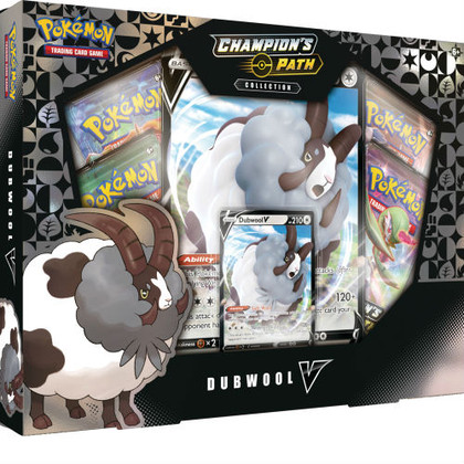 Pokemon: Dubwool V - Champion's Path Collection