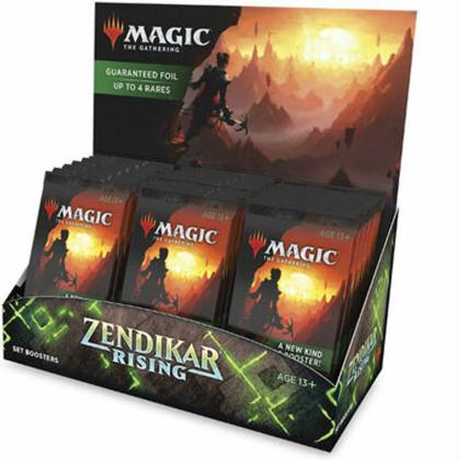 Magic: The Gathering - Zendikar Rising Set Booster Box (Bulk Discounts)