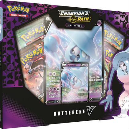 Pokemon: Hatterene V - Champion's Path Box