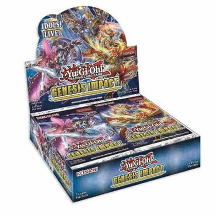 Yu-Gi-Oh!: Genesis Impact Booster Box 1st Edition (Bulk Discounts)