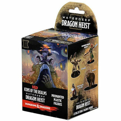 Dungeons & Dragons Miniatures: Icons of the Realms - Waterdeep Dragon Heist Booster Pack