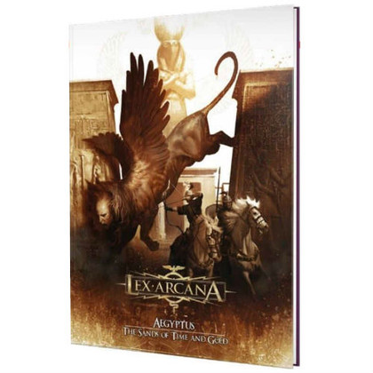 Lex Arcana RPG: Aegyptus - The Sands of Time & Gold (PREORDER)