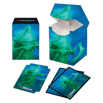 Ultra Pro: Kaldheim - Ranar the Ever-Watchful - Combo Sleeves (100ct) & Deck Box (Pro-100+)