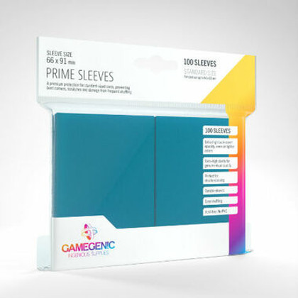 Game Genic Sleeves: Blue Standard Size Prime Sleeves (100ct)