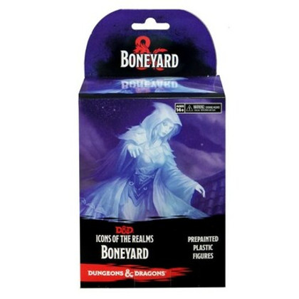 Dungeons & Dragons Miniatures: Icons of the Realms #18 Boneyard Booster Pack
