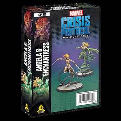 Marvel Crisis Protocol: Angela & Enchantress Character Pack