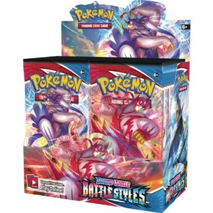 Pokemon: Sword & Shield - Battle Styles Booster Box (Bulk Discounts)