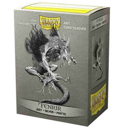 Dragon Shield: Fenrir - Art, Matte Card Sleeves (100ct)