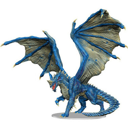 Dungeons & Dragons Miniatures: Icons of the Realms - Adult Blue Dragon Premium Figurine