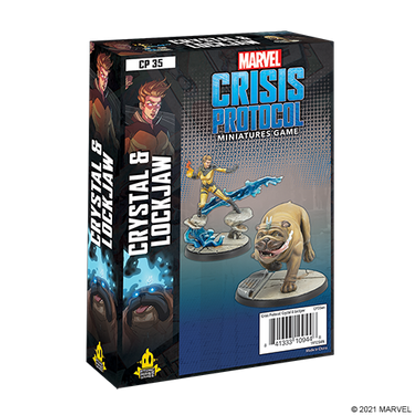 Marvel Crisis Protocol: Crystal & Lockjaw