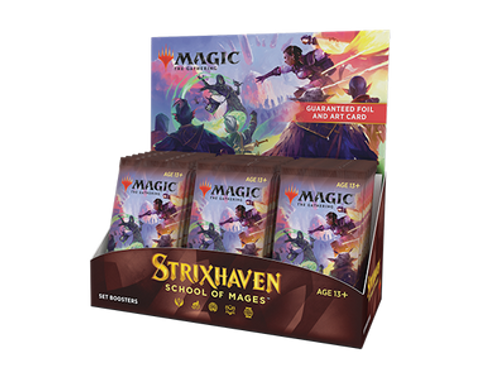Magic: The Gathering - Strixhaven - School of Mages Set Booster Box (On Sale) (Bulk Discounts)