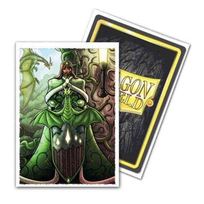 Dragon Shield: 'King Mothar Vanguard' Portrait - Art, Matte Card Sleeves (100ct)