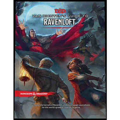 Dungeons & Dragons 5E RPG: Van Richten's Guide to Ravenloft