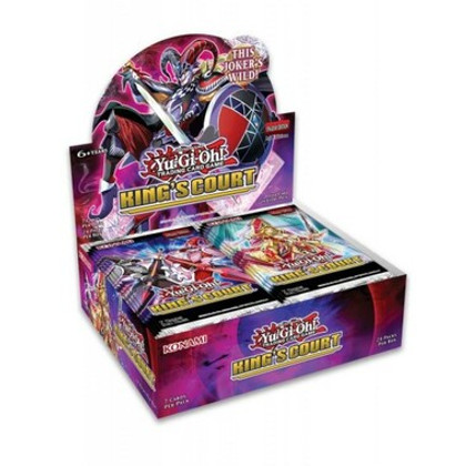 Yu-Gi-Oh!: King's Court Booster Box 1st Edition