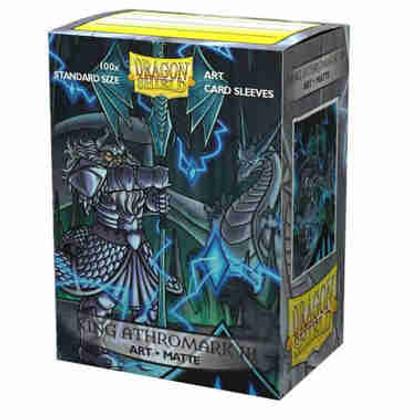 "Dragon Shield: ""King Athromark III"" Portrait - Art, Matte Card Sleeves (100ct)"