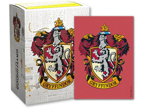 Dragon Shield: Harry Potter Gryffindor -  Art, Brushed Card Sleeves (100ct)