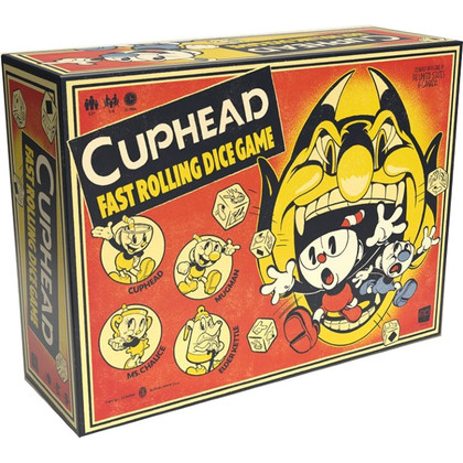 Cuphead: Fast Rolling Dice Game (PREORDER)