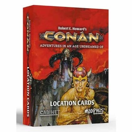Conan RPG: Location Cards (PREORDER)