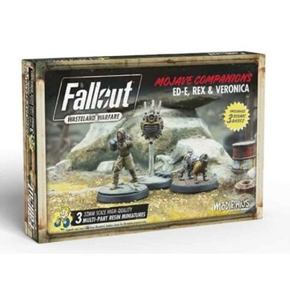 Fallout Wasteland Warfare: Mojave Companions - Ed-E, Rex, & Veronica (PREORDER)