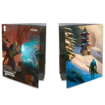 Ultra Pro Folio: Dungeons & Dragons - Monk Class w/ Stickers (PREORDER)