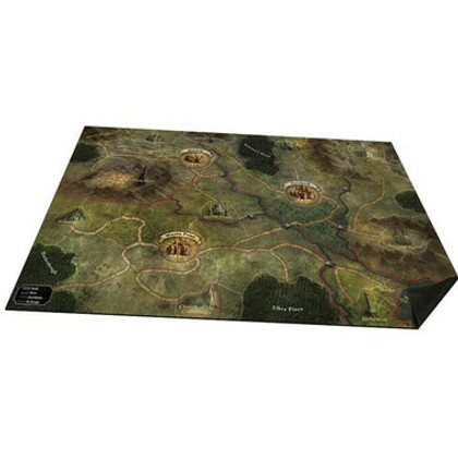 Folklore: The Affliction - Oversized Cloth World Map