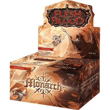 Flesh & Blood TCG: Monarch Booster Box (24) (Unlimited Edition) (Bulk Discounts)