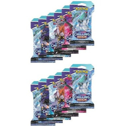 Pokemon: Sword & Shield - Chilling Reign Sleeved Booster Pack (12ct)