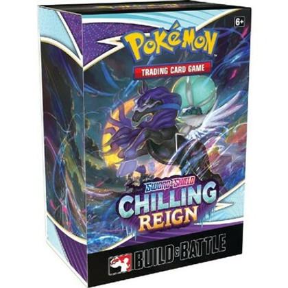 Pokemon: Sword & Shield - Chilling Reign Build & Battle Box
