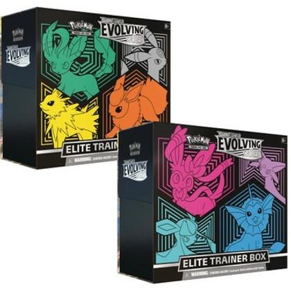 Pokemon: Sword & Shield - Evolving Skies Elite Trainer Boxes (Set of 2)