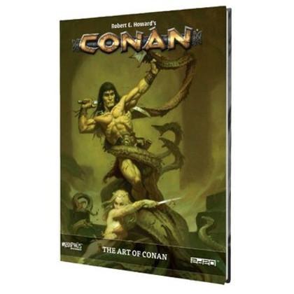 Conan RPG: The Art of Conan (PREORDER)