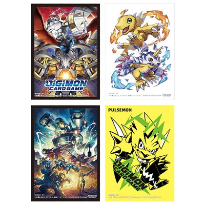 Digimon TCG: Official Card Sleeves V2 (60ct) (Set of 4)