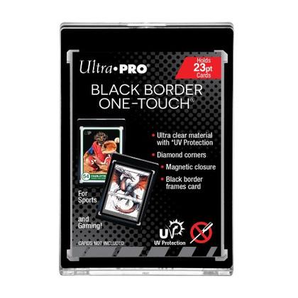 Ultra Pro: Black Border ONE-TOUCH Magnetic Holder UV 23pt (PREORDER)