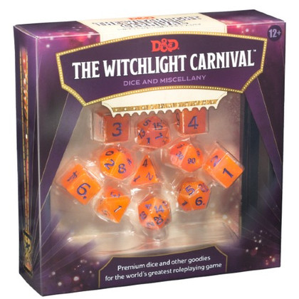 Dungeons & Dragons 5E RPG: The Witchlight Carnival - Dice & Miscellany (PREORDER)