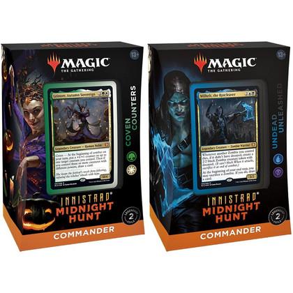 Magic: The Gathering - Innistrad - Midnight Hunt - Commander Decks (Set of 2)