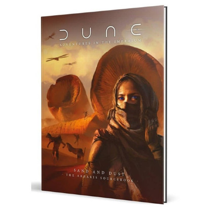 Dune: Adventures in the Imperium RPG: Sand & Dust (Standard Edition) (PREORDER)