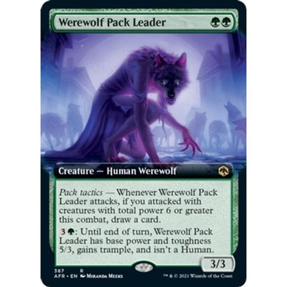 Werewolf Pack Leader: Rare #387 - Adventures in the Forgotten Realms (Extended Art)