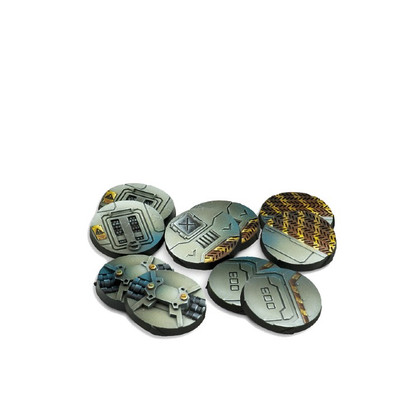 Infinity: Scenery Bases, Alpha Series (25mm) (10) (PREORDER)