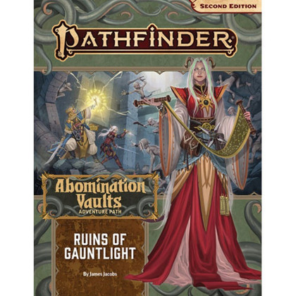 Pathfinder RPG 2nd Edition: Adventure Path - Ruins of Gauntlight (Abomination Vaults 1 of 3) (Ding & Dent)