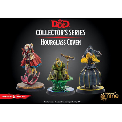 Dungeons & Dragons Miniatures: Collector's Series - The Wild Beyond the Witchlight - Hourglass Coven (PREORDER)