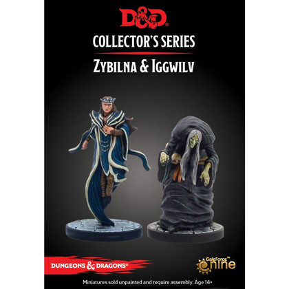 Dungeons & Dragons Miniatures: Collector's Series - The Wild Beyond the Witchlight - Zybilna & Iggwilv (PREORDER)