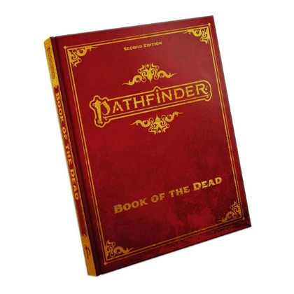 Pathfinder RPG 2nd Edition: Book of the Dead (Special Edition) (PREORDER)